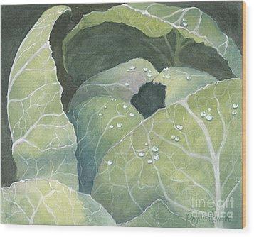 Cold Crop Wood Print