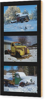 Cold Guys Wood Print by Idaho Scenic Images Linda Lantzy