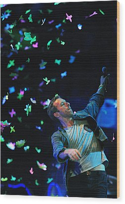 Coldplay1 Wood Print