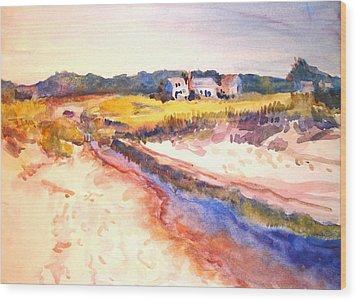 Cole Brook Wood Print by Joyce Kanyuk