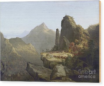 Cole: Last Of The Mohicans Wood Print by Granger