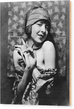 Colleen Moore, Around 1927 Wood Print by Everett