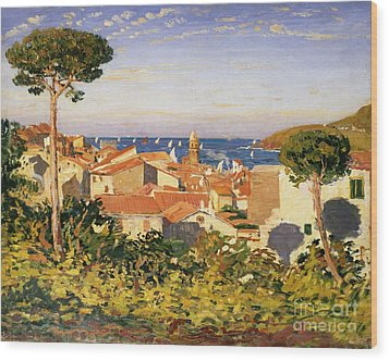 Collioure Wood Print by James Dickson Innes