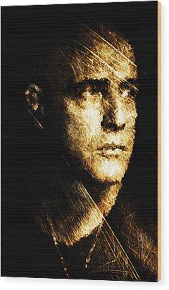 Colonel Kurtz Wood Print