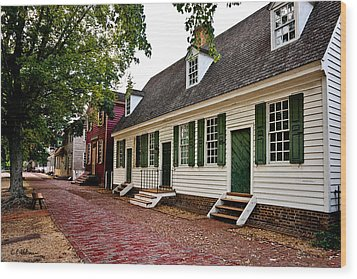Colonial Times Wood Print by Christopher Holmes