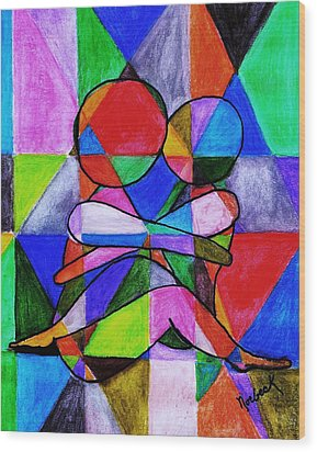 Color Blind Wood Print by Thomas J Norbeck