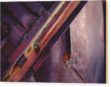 Wood Print featuring the photograph Color Burst.. by Al Swasey