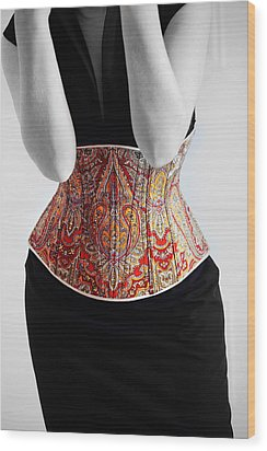 Wood Print featuring the photograph Color Corset by Andrey  Godyaykin
