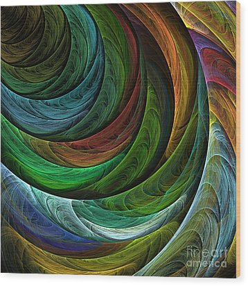 Color Glory Wood Print by Oni H