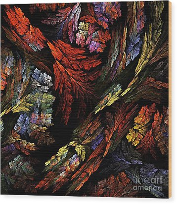 Color Harmony Wood Print by Oni H