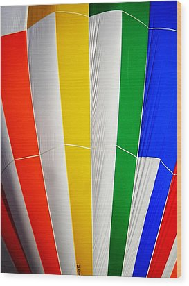 Color In The Air Wood Print by Juergen Weiss