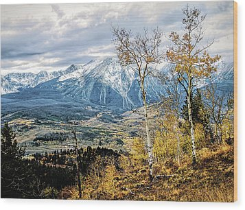 Wood Print featuring the photograph Colorado Autumn by Jim Hill