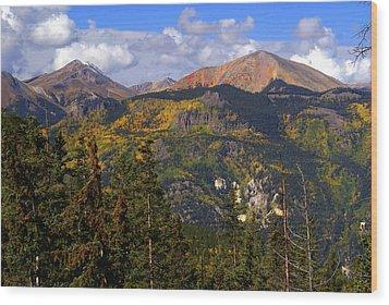Colorado Fall Wood Print by Marty Koch