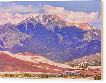 Colorado Great Sand Dunes National Park  Wood Print by James BO  Insogna