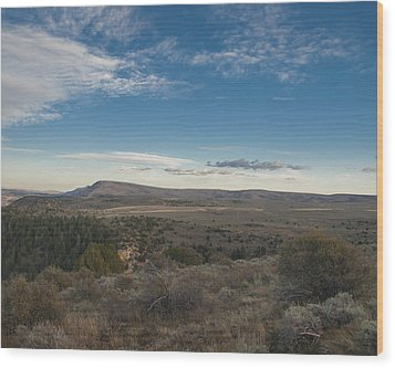 Wood Print featuring the photograph Colorado Range by Joshua House