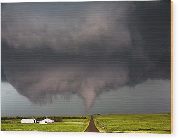 Colorado Tornado 2 Wood Print