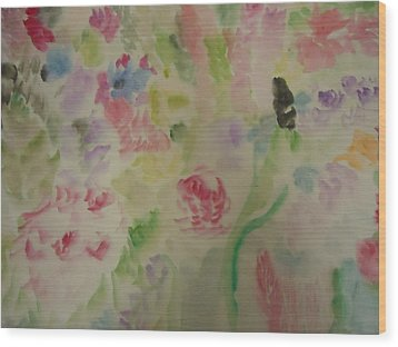 Colorful  001 Wood Print
