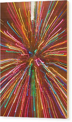 Colorful Abstract Photography Wood Print by James BO  Insogna