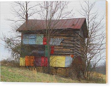 Colorful Barn Wood Print