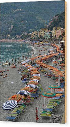 Colorful Monterosso Wood Print