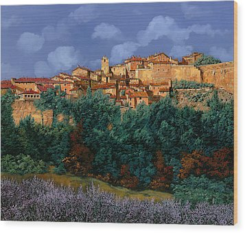 colori di Provenza Wood Print by Guido Borelli