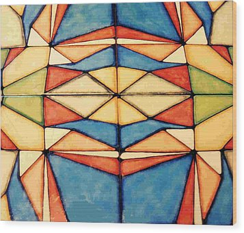 Colors Wood Print by Dy Witt