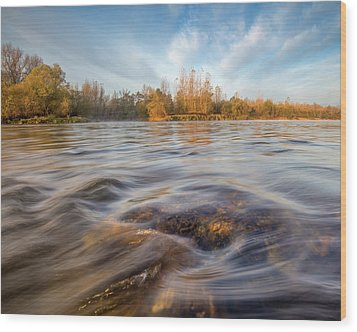 Wood Print featuring the photograph Colors Of Autumn by Davorin Mance