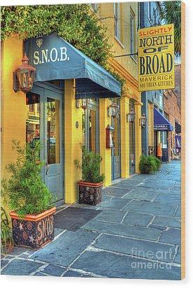 Colors Of Charleston 2 Wood Print