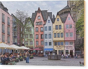 Colors Of Germany Wood Print