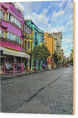 Colors Of Istanbul Wood Print