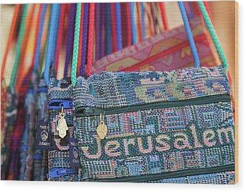 Colors Of Jerusalem Wood Print