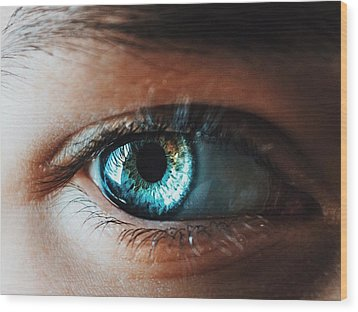 Wood Print featuring the photograph Colors by Parker Cunningham