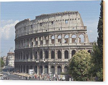 Colosseo I Wood Print by Fabrizio Ruggeri