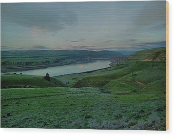 Wood Print featuring the photograph Columbia Gorge In Early Spring by Jeff Swan