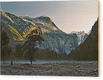 Wood Print featuring the painting Columbia Rock by Larry Darnell