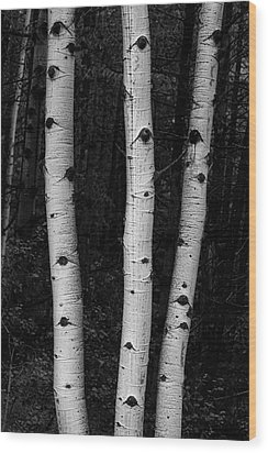 Wood Print featuring the photograph Coming Out Of Darkness by James BO Insogna