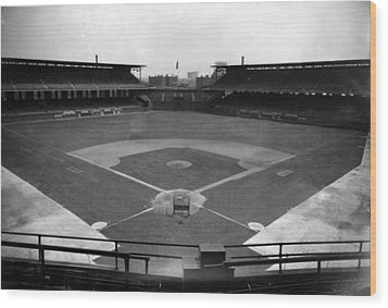 Comiskey Park, Baseball Field That Wood Print by Everett