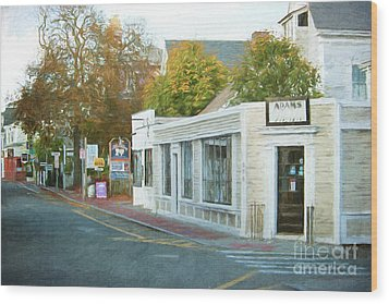 Commercial St. #2 Wood Print
