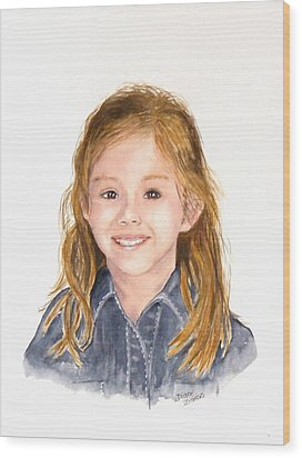 Commissioned Portrait 3 Wood Print