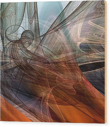 Complex Decisions Wood Print by Ruth Palmer