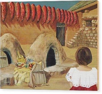 Compound Ovens Wood Print