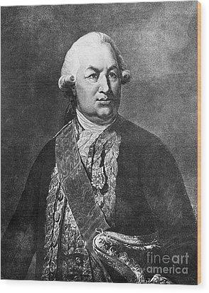 Comte De Grasse (1722-1788) Wood Print by Granger