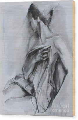 Concealed Wood Print by Kristina Laurendi Havens