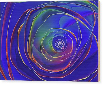 Concentric Wood Print by Alexis Baranek