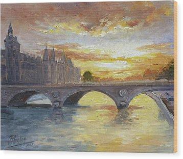 Conciergerie, Paris Wood Print