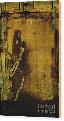 Concrete Canvas Wood Print by Reb Frost