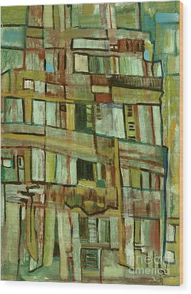 Condo Wood Print by Paul McKey