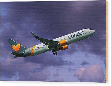 Condor Boeing 767-3q8 Wood Print