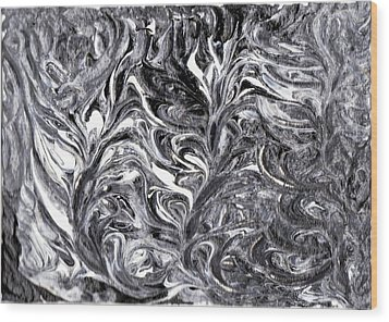 Confusion 4 Wood Print by Keenya  Woods