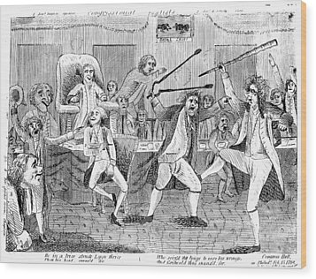 Congressional Pugilists Wood Print by Granger